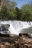 Natural Dam Waterfall Royalty Free Stock Photos