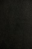 Natural dark black leather texture background