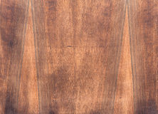 Natural dark brown wood texture. Stock Images