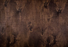 Natural dark wood background stock image