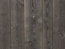Natural dark wooden background Royalty Free Stock Images