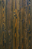 Natural dark wooden grain  background Stock Photo