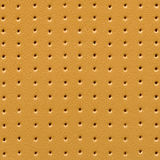 Natural decorated leather, for backgrounds or textures Stock Photography