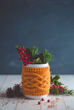 Natural Decorating for Christmas Royalty Free Stock Image