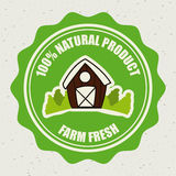 Natural design Stock Image