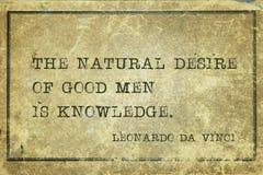 Natural desire DaVinci Stock Photography