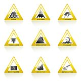 Natural Disaster Icon Royalty Free Stock Images