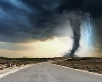 Natural disaster Royalty Free Stock Image
