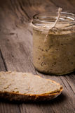 Natural diy homemade lentil paste Stock Images