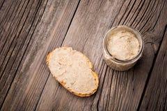 Natural diy homemade lentil paste Stock Photo