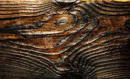 Natural drawing of a wooden board royalty free stock photos