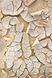 Natural Dried Ground Texture Background Closeup Royalty Free Stock Photos