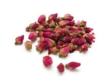 Natural dried rose tea isolated Stock Image