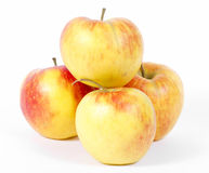 Natural ecological apples Royalty Free Stock Photos