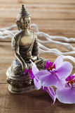 Natural elements for spa treatment still-life with zen mindset Stock Images