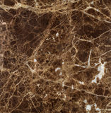 Natural Emperador Dark marble texture Stock Images
