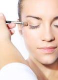 Natural eye makeup Stock Photos