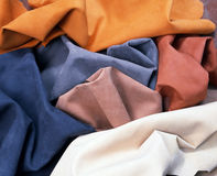 Natural fabric. Royalty Free Stock Images