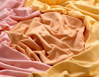 Natural fabric. Royalty Free Stock Photo