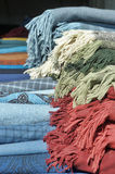 Natural fabric covers Royalty Free Stock Photography