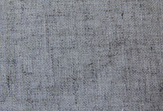 Natural fabric. Natural linen fabric for embroidery (gray Stock Photos