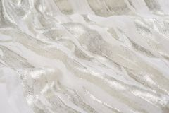 A Natural fabric linen. sackcloth textured. texture, background Royalty Free Stock Image