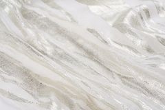 A Natural fabric linen. sackcloth textured. texture, background Stock Photo