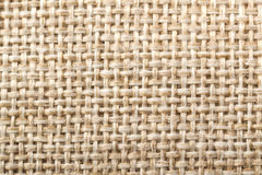 Natural fabric linen texture for design, sackcloth textured. Bro. Wn and yellow canvas background. Cotton Royalty Free Stock Photography