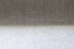 Natural fabric linen texture design. Sackcloth textured. Brown C. Anvas Background. Cotton Royalty Free Stock Photography