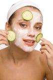 Natural face care Royalty Free Stock Photos