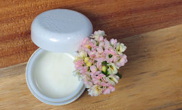 Natural face cream. Stock Photo