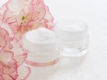 Natural facial cream Royalty Free Stock Photography