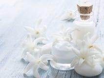 Natural facial cream Royalty Free Stock Photo