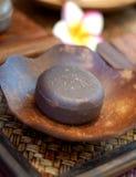 Natural Facial Soap. Natural herbal soap for daily facial care Stock Photo