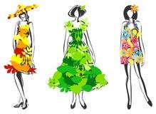 Natural fashion Stock Image
