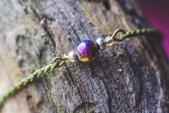 Natural fashionable Bracelet stock images