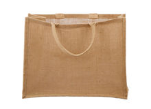 Natural Fiber Reusable Shopping Bag Royalty Free Stock Photos