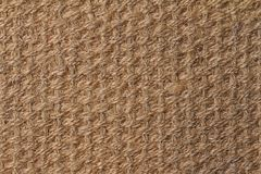 Natural fiber texture. Natural fiber doormat, suitable for use as background or texture royalty free stock images