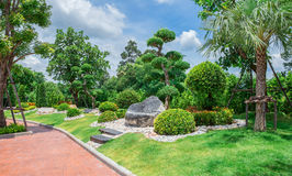Built Space, Formal Garden, Front or Back Yard, Lawn, Ornamental stock photography