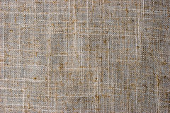 Natural flax napkin background close-up Royalty Free Stock Images