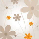 Natural floral background Royalty Free Stock Image