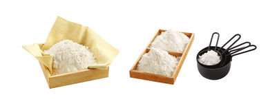 Natural flour from grain Royalty Free Stock Photo