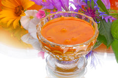 Natural flower honey Stock Photo