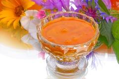 Natural flower honey Stock Photo
