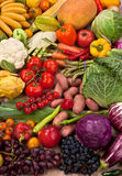 Natural food background Stock Image