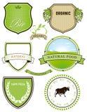 Natural food designs Royalty Free Stock Image