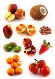 Natural food set Royalty Free Stock Photography