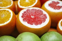 Natural Foods, Fruit, Citric Acid, Produce Stock Images