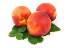 Natural Foods, Fruit, Peach, Produce Stock Images