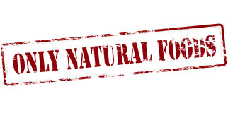 Only natural foods Royalty Free Stock Photo